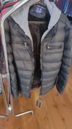 Blusa frio jaqueta nilon moletom bobojaco /toca Com zíper