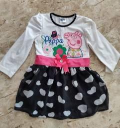 Vestido Peppa Infantil