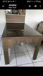 Vendo mesa com painel espelhado