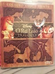 Blu ray trilogia O rei Leão