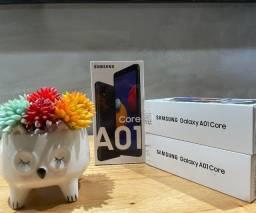 """Smartphone Samsung Galaxy A01 Core Dual Chip Android 10 Tela 5.3"""" 32GB Câmera 8MP - Novo"""