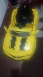 Carro infantil Camaro bandeirante LEIA