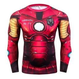 Camisa 3d Super Herois