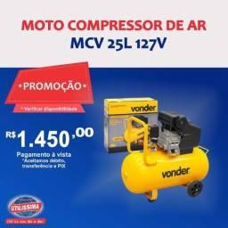 Motocompressor de Ar Mcv 25 25 Litros 127V ? Vonder