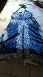 Vestido longo indiano NOVO