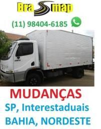 Traga Sua Mudança pra SP - Caminhões em Salvador, Aracaju, Maceió e Regiões
