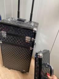 Super maleta para Maquiadora E Cabelereira (usada)