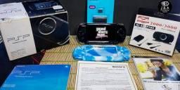 *Video Game Playstation Sony PSP-3010/Original+240 Jogos Caixa Original*