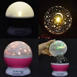 Luminária Projetora 360° Star Master- Entrega Grátis