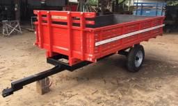 Carroça para trator 4 toneladas