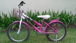 "Bicicleta infantil para menina Aro 20"""