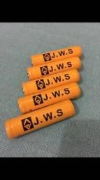 Bateria recarregável para lanterna tática - Profissional