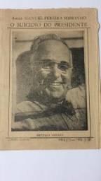 Cordel da Morte de Getúlio Vargas de 1954
