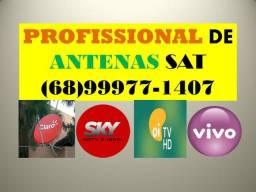 Técnico especializado em Antenas