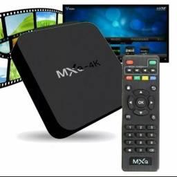 TV Box 4K! Transforme sua TV em Smart!