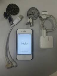 IPhone 4 Branco icloud liberado