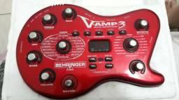 Behringer V-AMP3 Com USB Pedais e Efeitos Pedaleiras