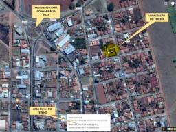 Lote 390 m² - Barração no Fundo