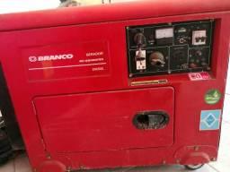 Gerador predial marca branco a diesel