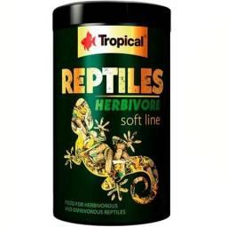 Ração Repteis Soft Line Reptile Herbivore Tropical 65g