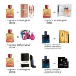 Perfumes importados direto da frança