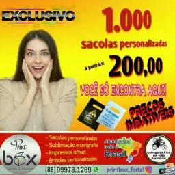 PrintBox: 1.000 sacolas a partir de R$ 200,00