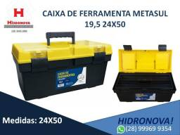"Caixa de ferramentas Metasul 19,5"" 24X50"