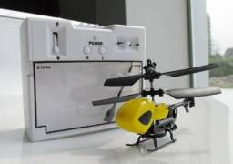 Micro Helicóptero De Controle Remoto Qs5013 2.5 Canais