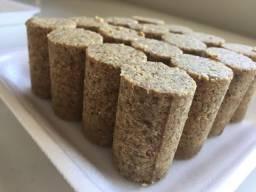 Paçoca Funcional e Pasta de Amendoim 100% Natural