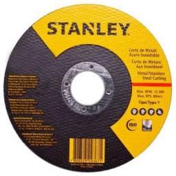 Kit 10 Discos de Corte para Aço Inox de 4.1/2 Pol. - Stanley - STA8061