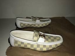 Mocassim Louis Vuitton Damier