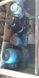 Motores elétricos e caixas de redução