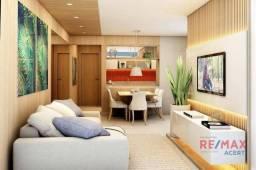 Apartamento com 3 dormitórios à venda, 87 m² por R$ 395.000 - Santa Mônica - Uberlândia/MG
