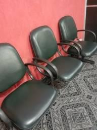 Cadeira - 3 lugares
