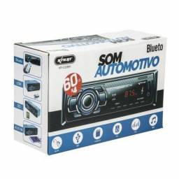 Rádio Automotivo Bluetooth 60w X4 Usb Sd Aux Quick Charger