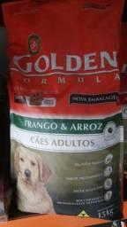 Vendo Ração Golden AD 15kg Frango e Arroz 110,00 reais