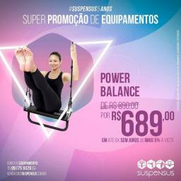 Power balance (balanço suspenso pilates)