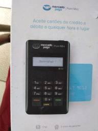 Máquina de passar cartão usada