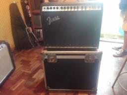 Caixa Amplificada Fender Rock Pro 1000 - Com Case Rigida