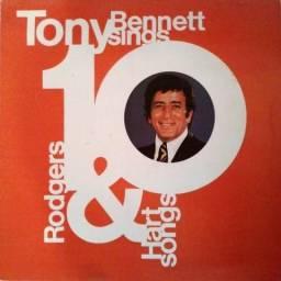 """Lp vinil de Tony Bennett """"Sings 10 Rodgers & Hart Songs"""" de 1976"""