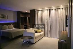 Ed. Mercure Boulevard - Alugo flat com 1 suíte, 55m² por R$ 2.950/mês - Umarizal