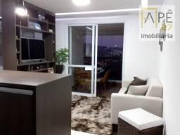 Studio com 1 dormitório para alugar, 38 m² - Jardim Flor da Montanha - Guarulhos/SP