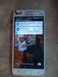 Vendo celular Gran prime ,tela trincada mais não afeta em nada