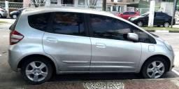 Honda Fit LX 2009, 16V Flex, banco de couro