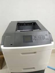 Impressora lexmark monocromática Ms811 dn 70ppm Usada revisada