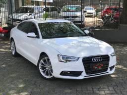 Audi a5 sportback 1.8 ambiente 2016 (teto solar) troco em carro de maior ou menor valor