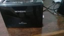 Torradeira Toast Due Black Mondial Seminova 110V