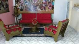 Vendo um jogo de sofá estilo Vintage. No valor de apenas R$ 2.500,00.