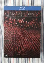 Box dvd bluray game of thrones 1-4 temporada