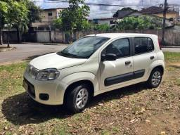 Fiat uno vivace economy 1.4 completo 2013 + kit gas g5 carro bem conservado unico dono